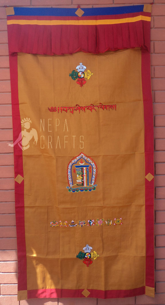 http://www.garudaexpress.com/NepaCrafts/images/Tibetian%20Door%20Curtain%20200311/DCK16.jpg